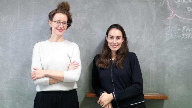 Die WisR-Gründerinnen Klaudia Bachinger (CEO) und Carina Roth (CFO) © Oliver Wolf