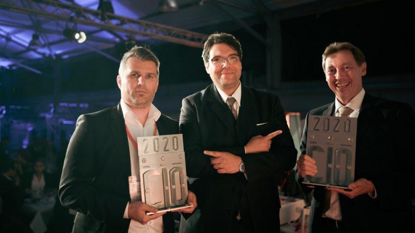 Stefan Zierlinger, Michael Ghezzo und Gunther Glawar. © Confare