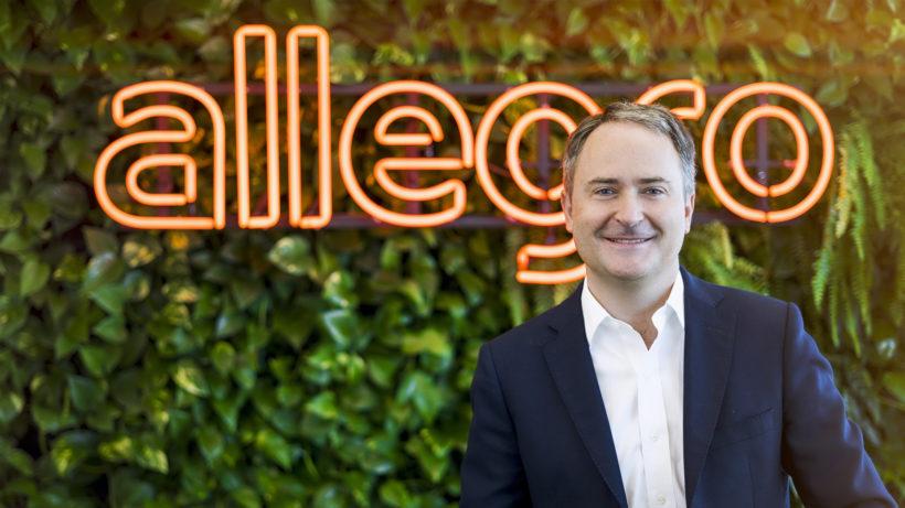 Francois Nuyts, CEO von Allegro. © Allegro