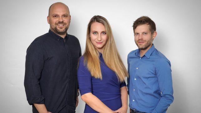 Verantwortlich für die Gründung des Founder Institute in Wien sind Manuel Zwittag, Mariya Konstantinova und Benedikt Glatzl. © The Founder Institute