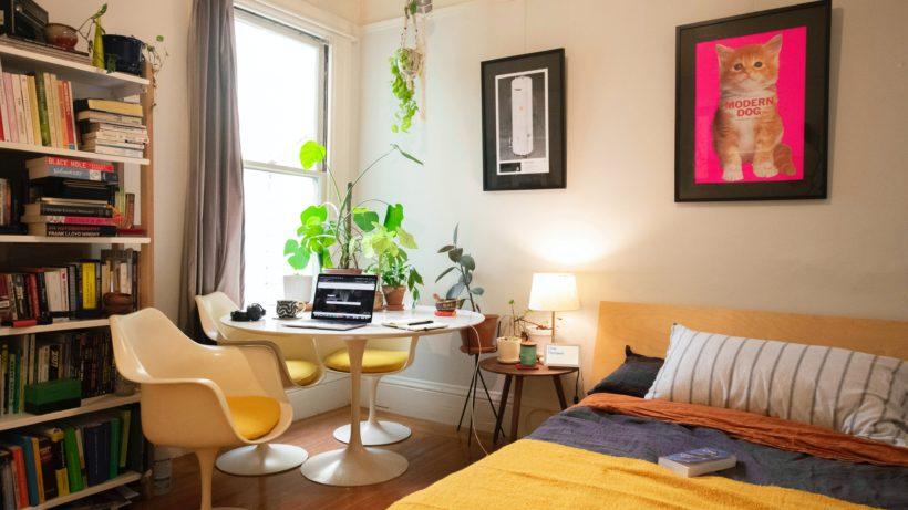 Improvisiertes Home Office. © Patrick Perkins on Unsplash