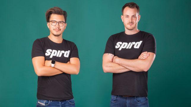 Kevin Schrattel und Dominik Kohl haben spird gegründet. © spird