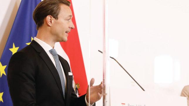 Finanzminister Gernot Blümel. © BMF/Dragan Tatic