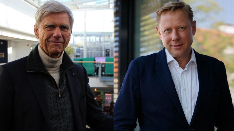 Die Investoren Hermann Hauser und Herbert Gartner. © Trending Topics/Stefan Warmuth