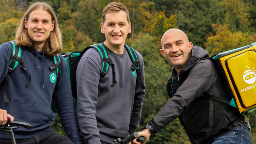 Christopher Meingast-Graf, Thomas Hager-Roiser und Gerald Reisecker von den MarktNinjas. © vollfillment GmbH