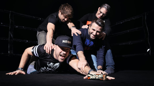 Das Gründer-Team von Neoh: Alexander Gänsdorfer, Manuel Zeller, Adel Hafizovic, Patrick Kolomaznik. © Alpha Republic