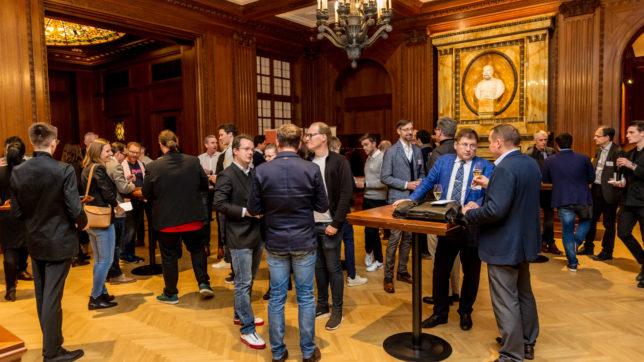 Die Demo Night des 360 Innovation Lab im Jänner 2020 im Wiener Park Hyatt Hotel. © Simon Möstl/ONLOPH