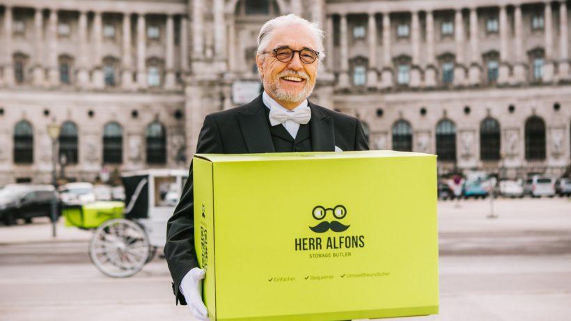Herr Alfons kommt nach Wien. © Philipp Lipiarski