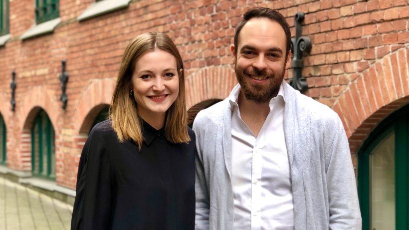 Valerie Pretscher und Stefan Strohmer. © Orderlion