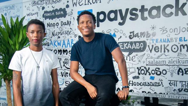 Shola Akinlade und Ezra Olubi, die Gründer von Paystack. © Paystack