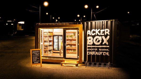 Die Ackerbox steht in Villach und Spittal. © myAcker / Ackerbox