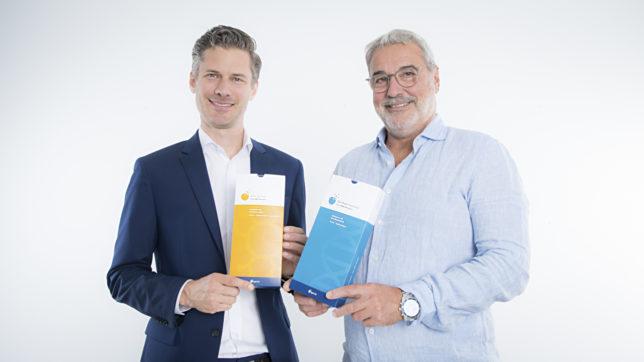 Dominik Flener und Gerhard Feilmayr von igevia. © Barbara Wirl - Scientific DX GmbH