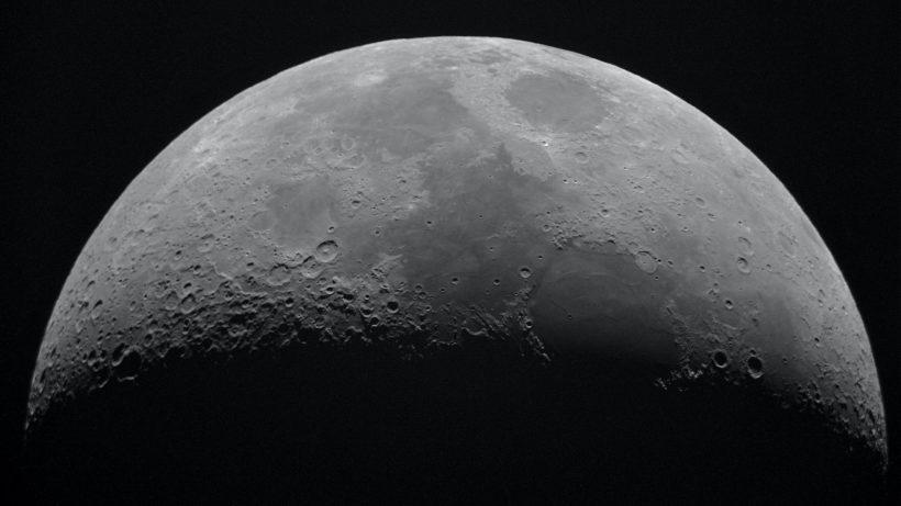 Der Mond - bald mit Internet? © Nicolas Thomas / Unsplash