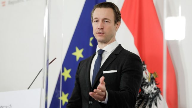 Finanzminister Gernot Blümel. © BKA / Andy Wenzel