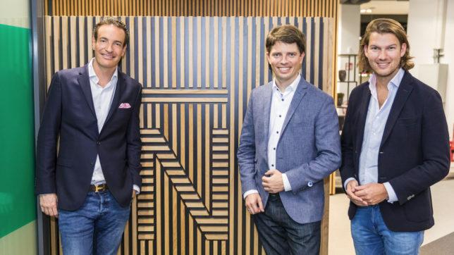 Maximilian Tayenthal, Georg Hauer und Valentin Stalf von N26. © N26