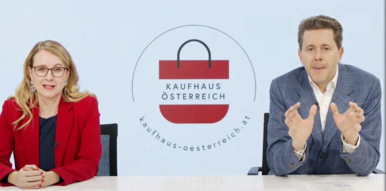 Digitalministerin Schramböck und WKÖ-Präsident Harald Mahrer. © Wirtschaftskammer