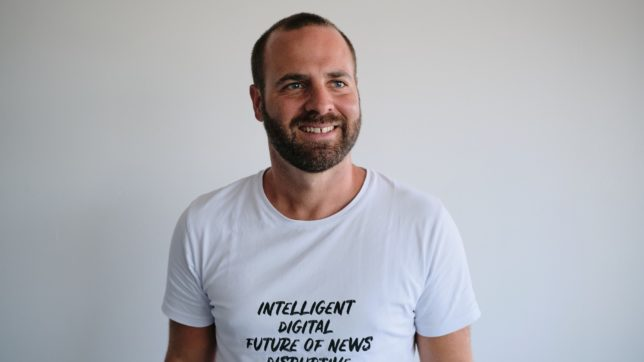 David Böhm, Gründer von Newsadoo. © Fabian Krenn