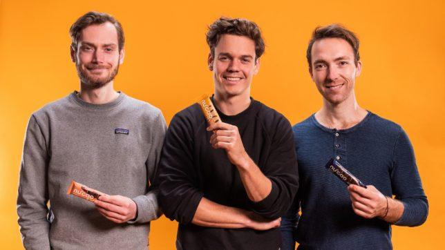 Mathias Tholey, Christian Fenner und Thomas Stoffels, die Gründer von the nu company. © the nu company / Paula Kadelski