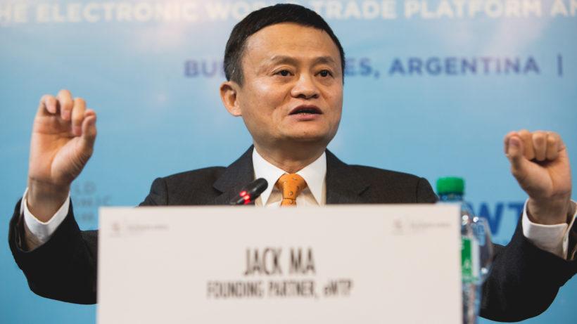 Alibaba-Gründer Jack Ma © WTO/ Cuika Foto
