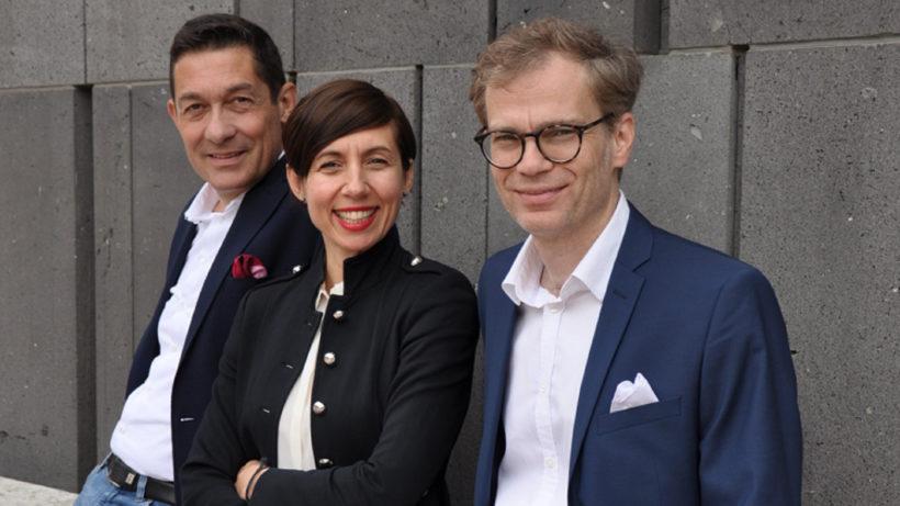 Die Gründer von YKMB: Karl Pichler, Katarzyna Pichler, Bernhard Krüpl-Sypien © YKMB