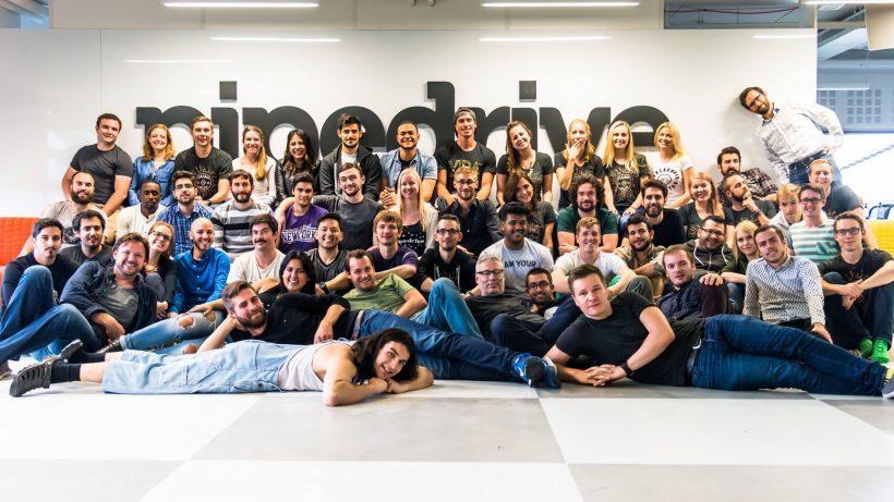 The PipeDrive team. © PipeDrive