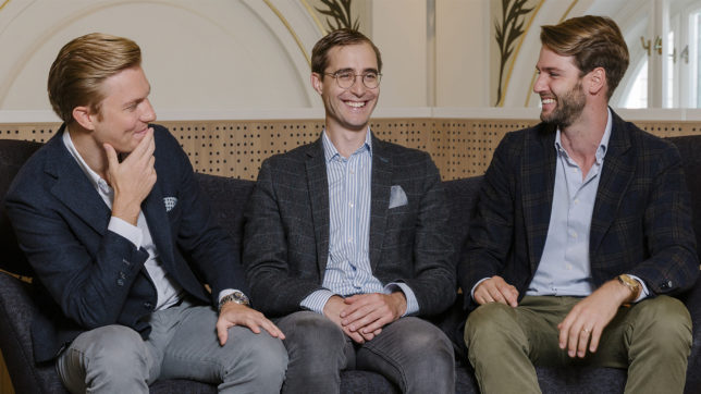 Lukas Müller, Paul Brezina und Tobias Leodolter von Rendity. © Rendity