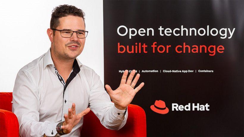 Udo Urbantschitsch ist Country Manager bei Red Hat. © Red Hat