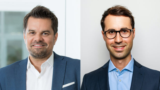 Wolfgang Kowatsch, Geschäftsführer von myAbility, und Felix Hüning, Gründer von Capjob © Renée del Missier/Paul Gärtner