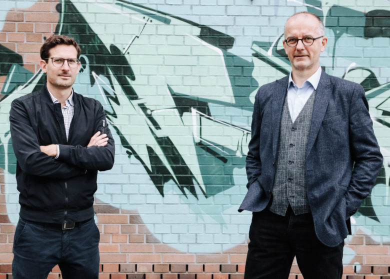 Thomas Meneder und Christian Matzinger vom OÖ HightechFonds. © OÖ HightechFonds
