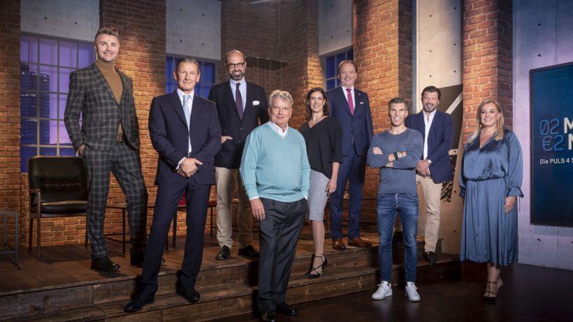Stefan Piëch und Alexander Schütz komplettieren das Investoren-Team bei 2 Minuten 2 Millionen. © Puls 4 / Gerry Frank