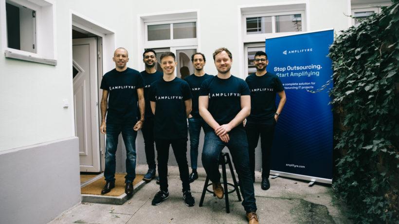 Das Team von Amplifyre. © Amplifyre