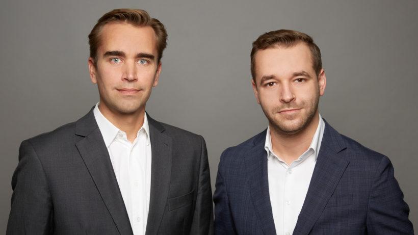 Ferdinand Schönburg und Norbert Mach von Corestad. © Corestad