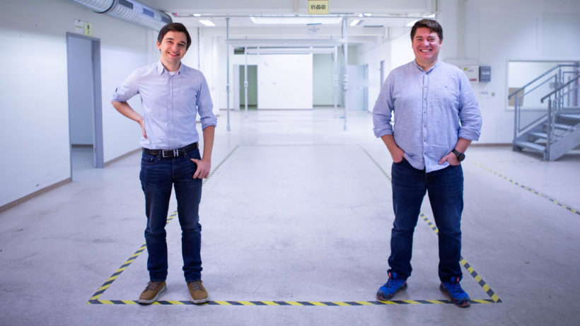Die Happylab-Geschäftsführer Karim Jafarmadar und Roland Stelzer. © Happylab