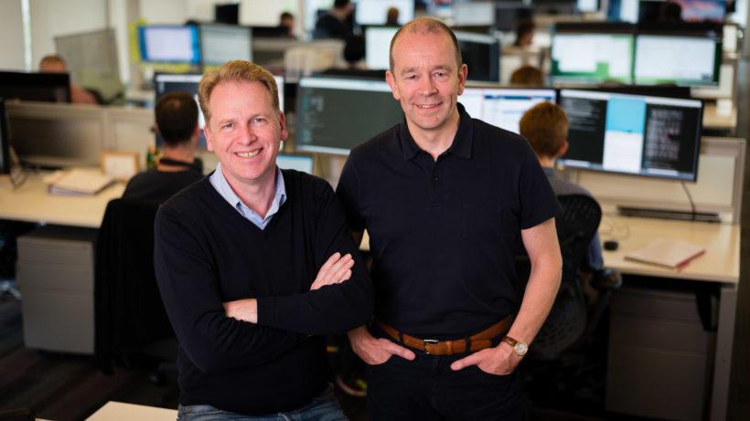 Nigel Toon und Simon Knowles, die Gründer von Graphcore. © Graphcore