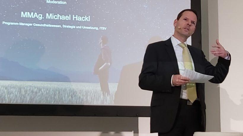 Michael Hackl, der Digitalisierungskoordinator bei IT-Services der Sozialversicherung, kümmert sich um den digitalen Gesundheitspfad. © Michael Hackl