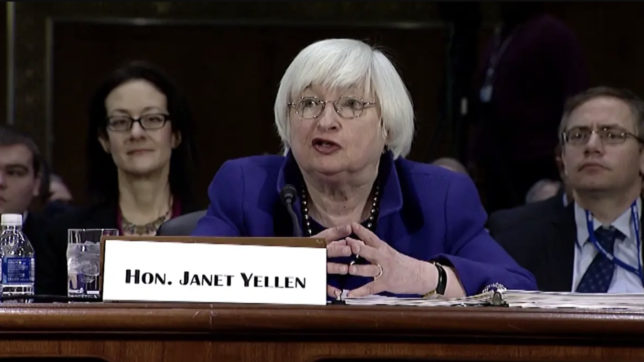 US-Finanzministerin Janet Yellen. © Screenshot