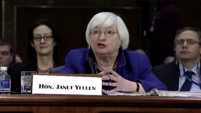 US-Finanzministerin Janet Yellen. © Screenshot