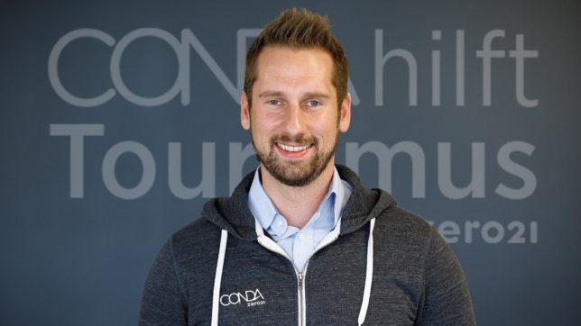 Daniel Horak, Gründer von Conda. © Conda