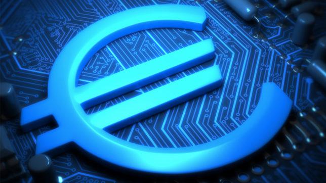 Symbolbild für den digitalen Euro. © EZB