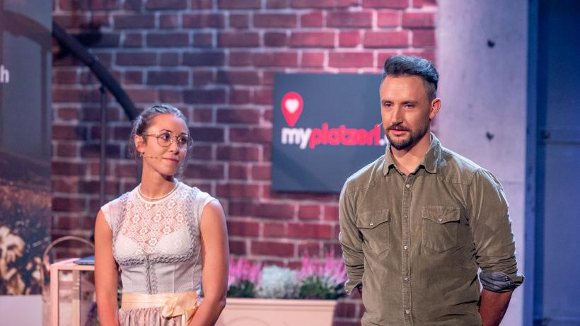 Matthias Leitner und Jessica Reitzer von MyPlatzerl. © Gerry Frank/Puls 4