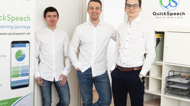 Das Team von QuickSpeech. © QuickSpeech