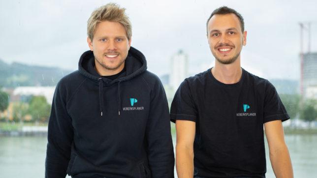 Lukas Krainz und Mathias Maier von Vereinsplaner. © Vereinsplaner