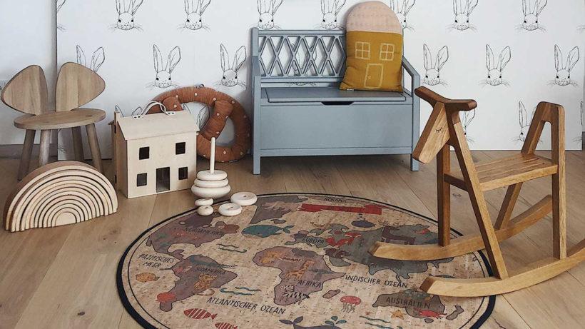 Clarissa Steurer setzt mit ihrem Startup Clarissakork auf Teppiche und andere Textilien aus Korkleder © Clarissakork