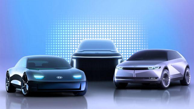 Design künftiger E-Autos von Hyundai. © Hyundai