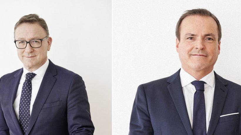 Helmut Ettl und Eduard Müller von der FMA. © FMA