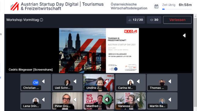 Der Austrian Startup Day 2021 fand virtuell statt. © WKÖ