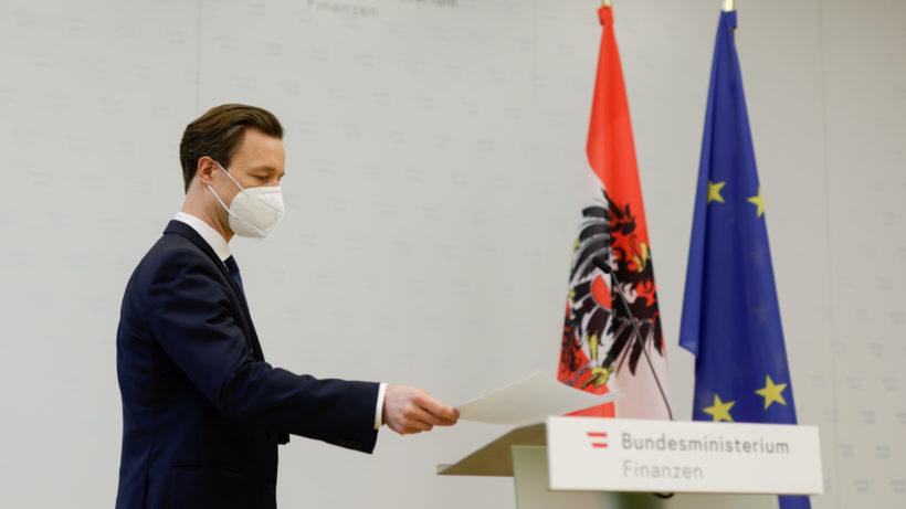 Finanzminister Gernot Blümel. © BMF/Wenzel