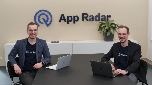 Silvio Peruci und Thomas Kriebernegg bilden die Geschäftsführung von App Radar. © App Radar