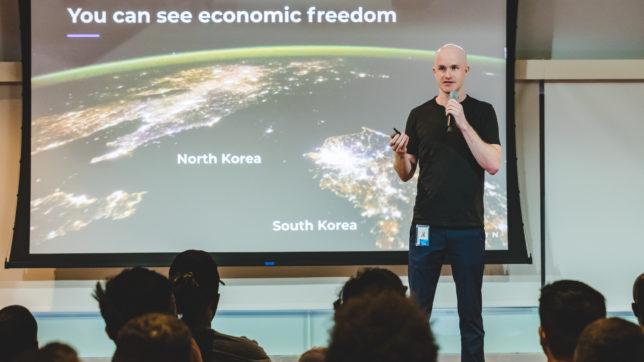 Coinbase CEO Brian Armstrong. © Coinbase
