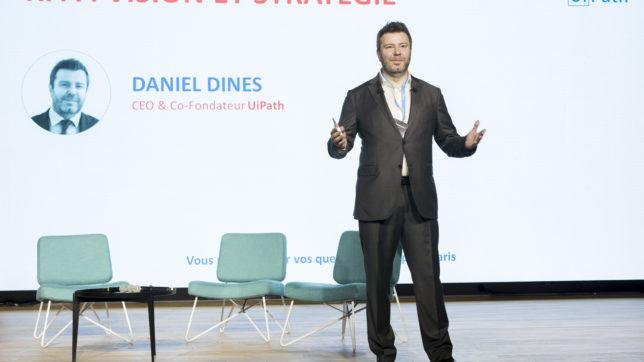 Daniel Dines, CEO und Gründer von UiPath. © UiPath